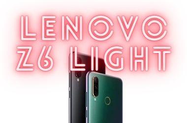 Lenovo Z6 Light (Youth)