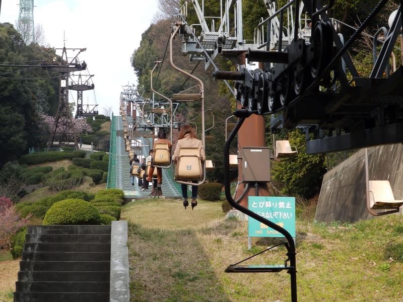 松山城 ロープウェイリフト