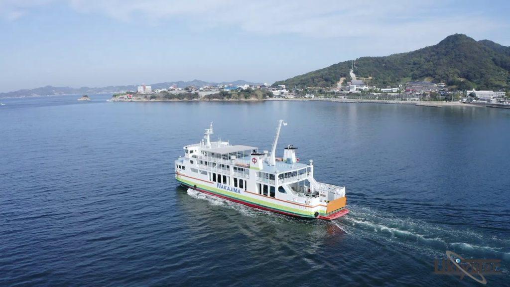 中島汽船で離島