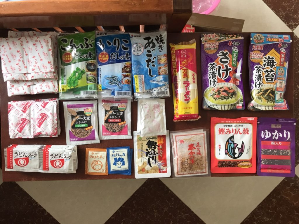 海外生活 日本食材