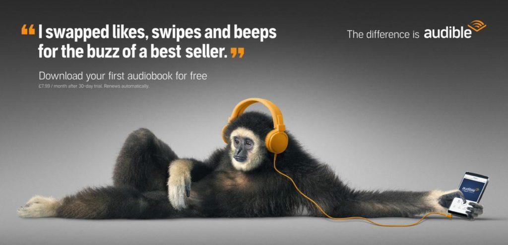 Amazon Audible  /  アマゾン オーディブル