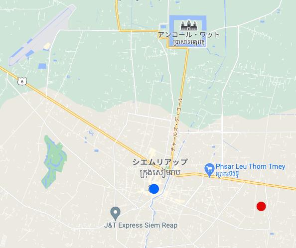 カンボジア世界遺産の街|シェムリアップの不動産「土地」を見に行ってみる